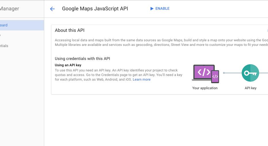 Art Calendar - Using Google Maps API